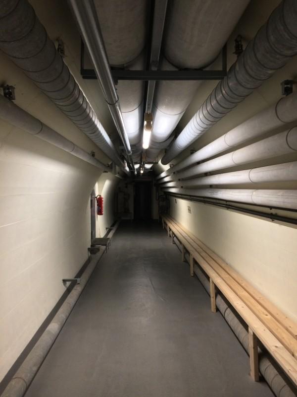 Der Weg zum Tresorraum<br>The way to the vault