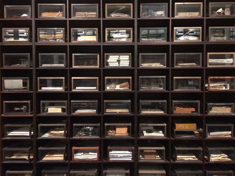 Sigrid Sigurdsson - Die Architektur der Erinnerung, 1988 - 2009 -  Das Museum im Museum - Vitrinen von