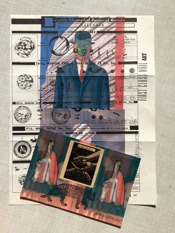 Incoming Mail Art Joe Patrickt April 2018