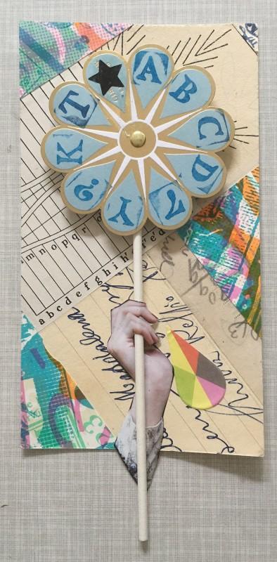 No38 Alison Kurke and Sabine Remy - windmill - pin wheel- Windrad