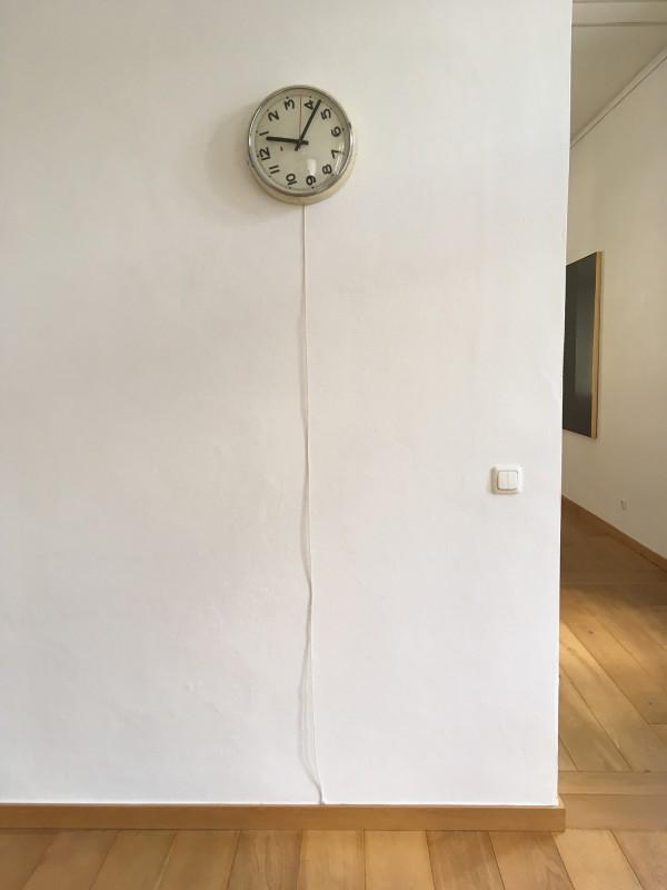 Alicja Kwade - Gegeg den Lauf (ref:10) - 2014 im Kunstmuseum Gelsenkirchen