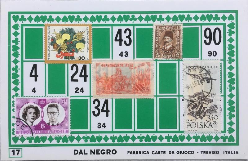 Mail Art Bingo No17 of 40 for KART assembling magazine running by David Dellafiora