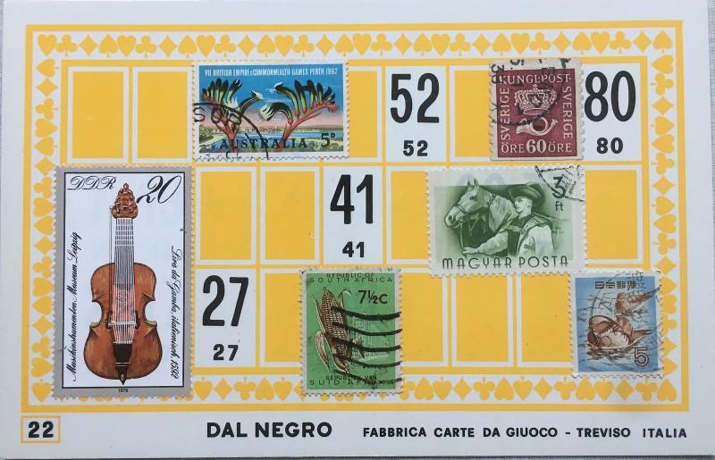 Mail Art Bingo No22 of 40 for KART assembling magazine running by David Dellafiora