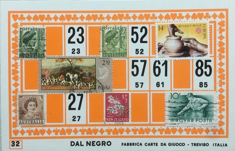 Mail Art Bingo No32 of 40 for KART assembling magazine running by David Dellafiora
