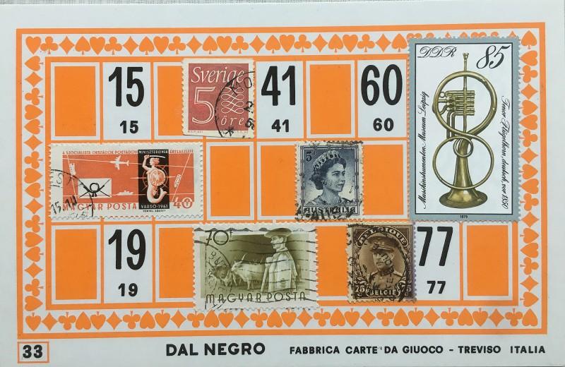 Mail Art Bingo No33 of 40 for KART assembling magazine running by David Dellafiora