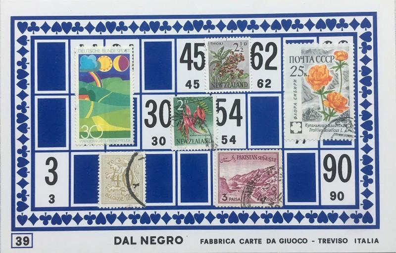 Mail Art Bingo No39 of 40 for KART assembling magazine running by David Dellafiora