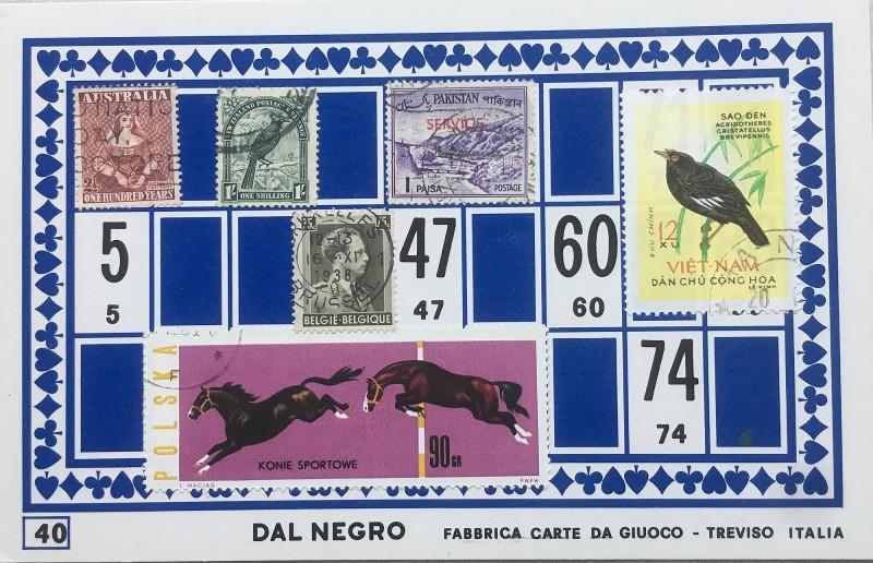 Mail Art Bingo No40 of 40 for KART assembling magazine running by David Dellafiora