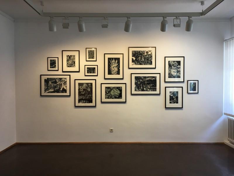 Henning Eichinger - alle 2018 - im Wilhelm-Fabry-Museum Hilden - Coming Full Circle - Raum 2