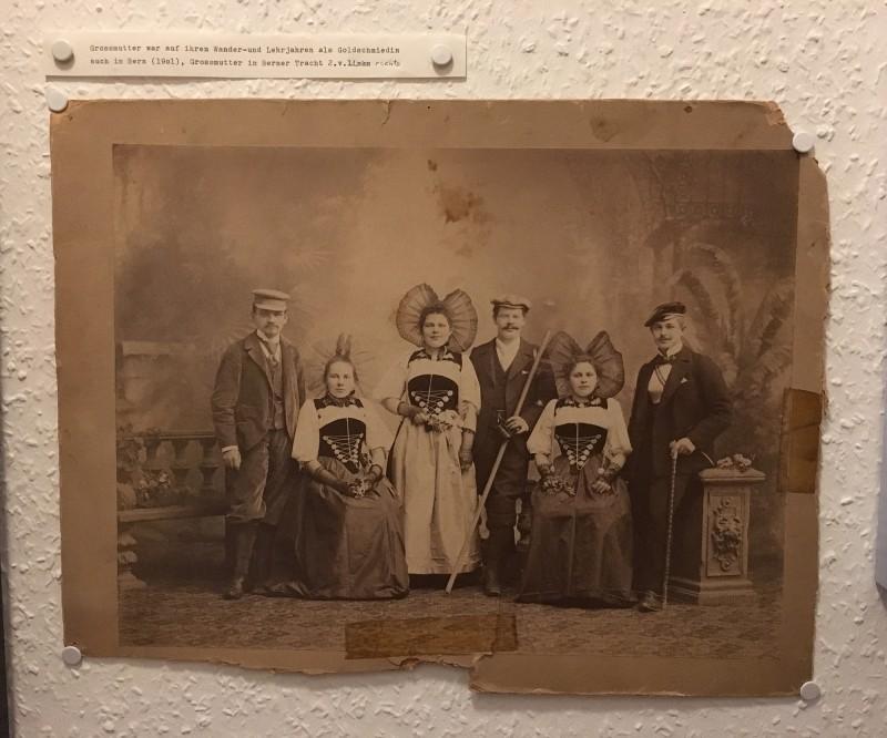 Foto aus der Ausstellung Harald Szeemann - Grossvater - Ein Pionier wie wir - in der Kunsthalle Duesseldorf