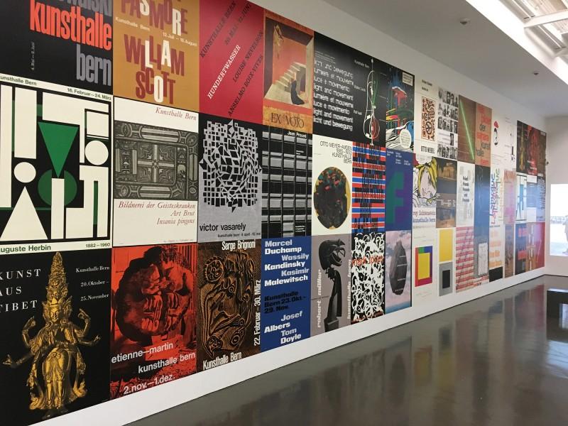 Harald Szeemann - Museum der Obsessionen - Kunsthalle Duesseldorf - Ausstellungsplakate der Kunsthalle Bern von 1961 - 1969 Teil 1