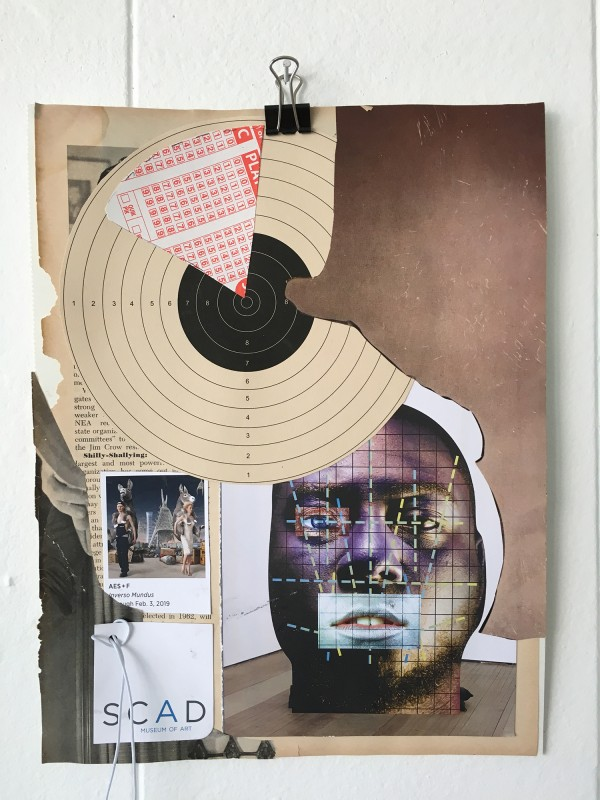 Tagebuch Collage Nr. 6 / Collage Dairy No 6