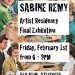 Ausstellung zum Ende meiner Artist Residency bei Sulfur / Exhibition at the end of my Artist  Residency at Sulfur thumbnail