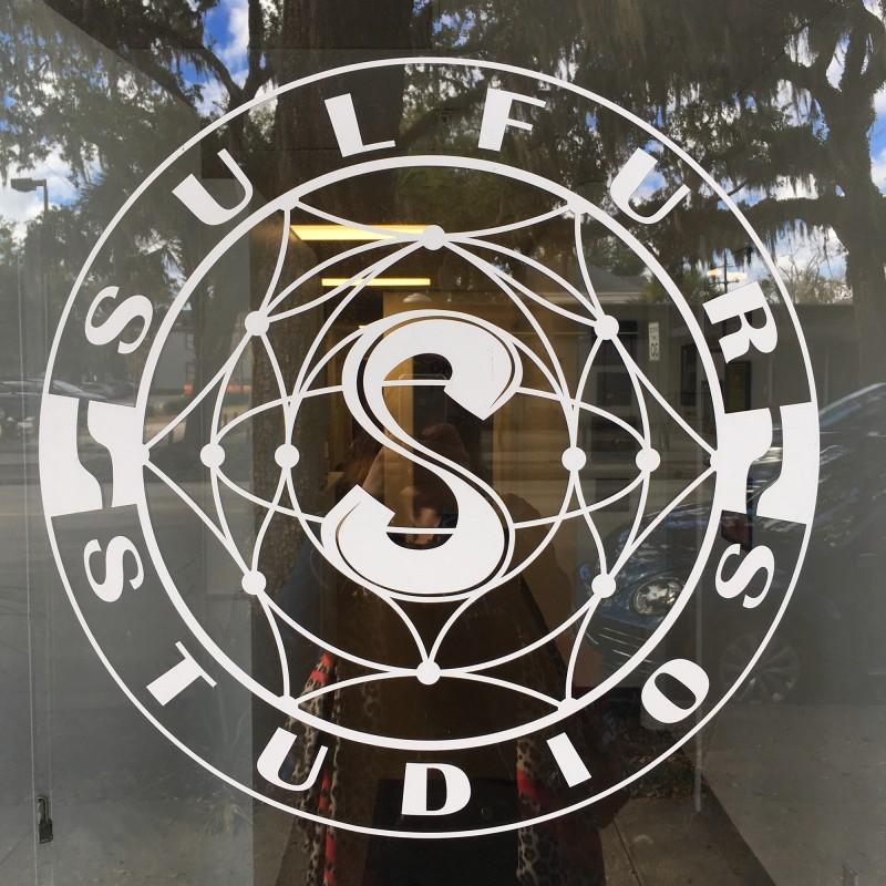 Sulfur Stuios Eingang / Sulfur Stuios Entrance