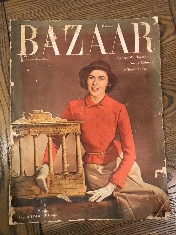 Alte Modezeitung / Vintage Magazine