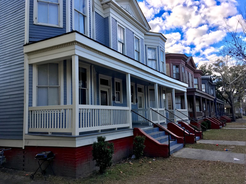 Bye bye Savannah - Straßenansichten in Savannah - By bye Savannah - Street views in Savannah-