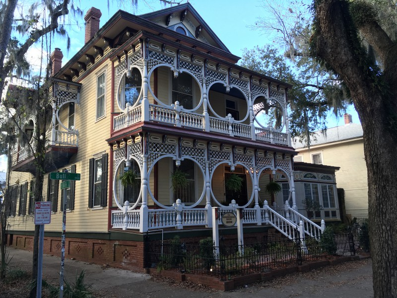Bye bye Savannah - Straßenansichten in Savannah - By bye Savannah - Street views in Savannah-  Ginger Bread Haus Bull St