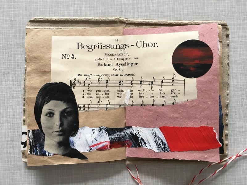 Post von Mano  - März 2019 - Collage-Buch
