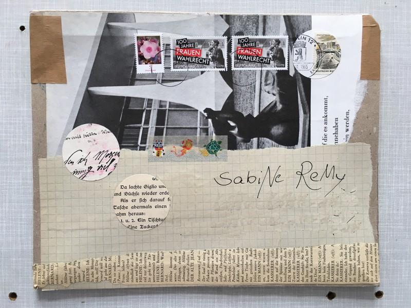 Post von Mano  - März 2019 - Briefumschlag