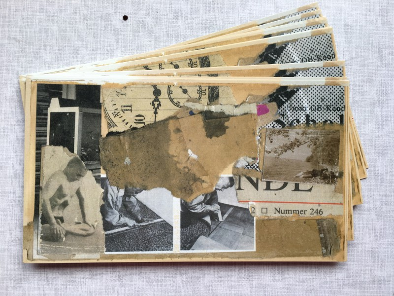 Presents from Frank Voigt - the otherone of two postcards from our collaboration