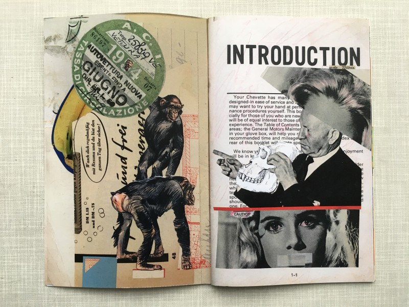 Incoming Stefan Heuer April 2019 - Booklet with collaborative works by Stefan and Geronimo Finn