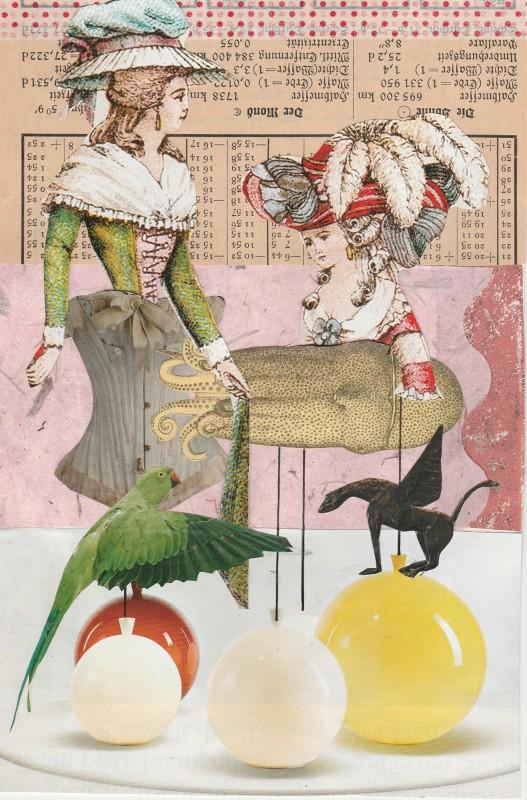 Set 2 Neo Exquisite Corpse Sabine Remy head Cristina Holm middle Iris Bohnen bottom