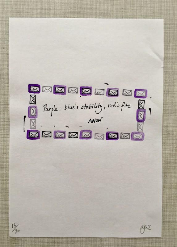 Attic Zine No4 - Purple - Nicola Winborn
