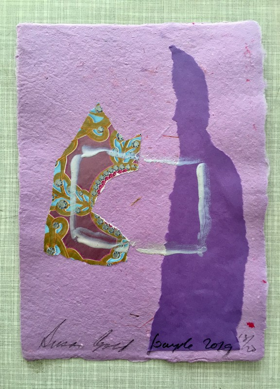 Attic Zine No4 - Purple - Susan Gold
