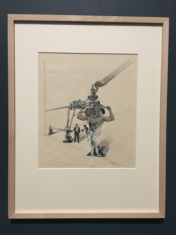 Museum Folkwang - Der montierte Mensch - Erwin Wendt - Kraftakt - Feat of Strength - 1928