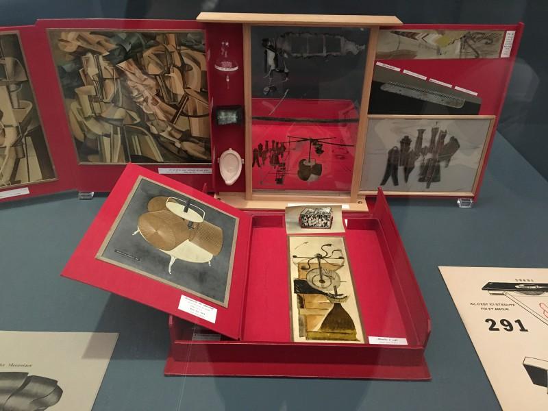 Museum Folkwang - Der montierte Mensch - Marcel Duchamp - Schachtel im Koffer - Box in a suitcase - 1966