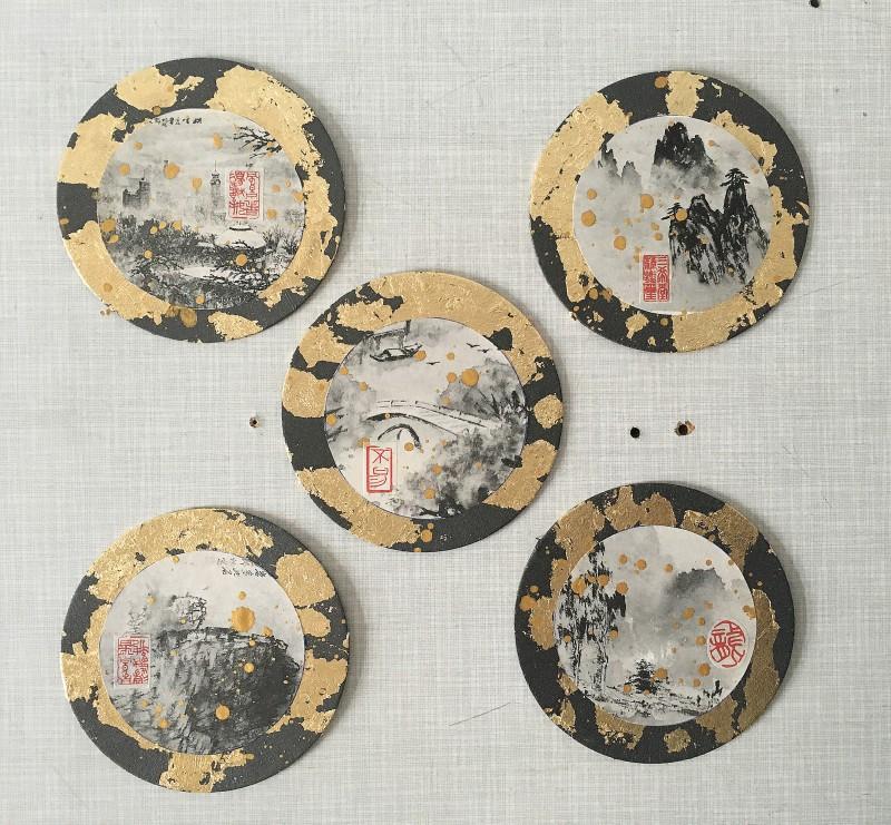 Asia Circles Landscapes