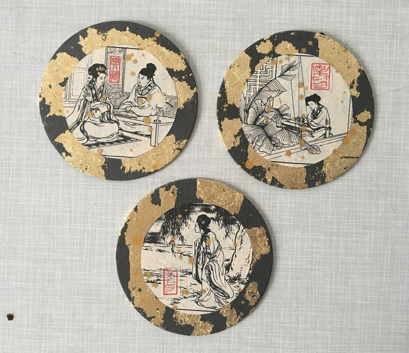 Asia Circles Vintage Comics
