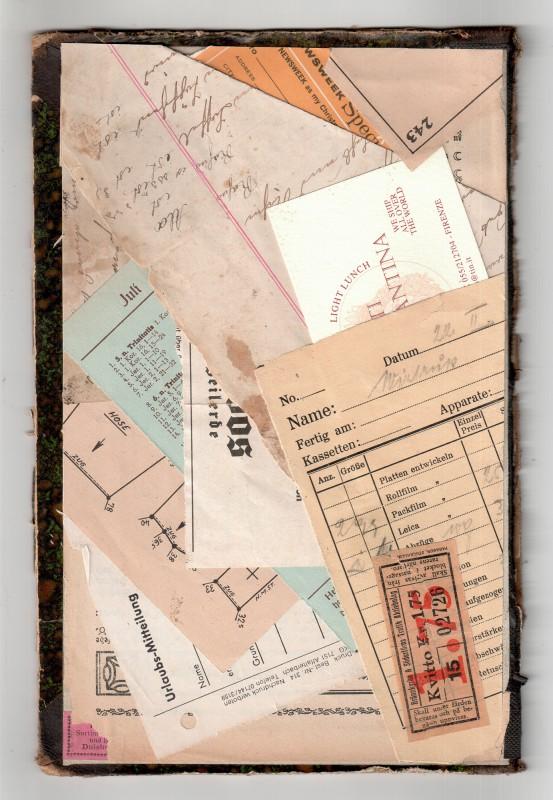 Homage to Kurt Schwitters - Urlaubsmitteilung - Vacation Notice