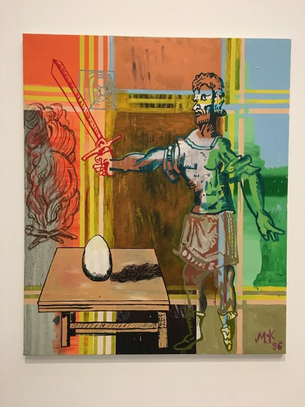 Martin Kippenberger - Bitteschön Dankeschön - Eine Retrospektive -Bundeskunsthalle Bonn 2019 -Des Philosophens Ei - The Philosopher´s Egg - 1996