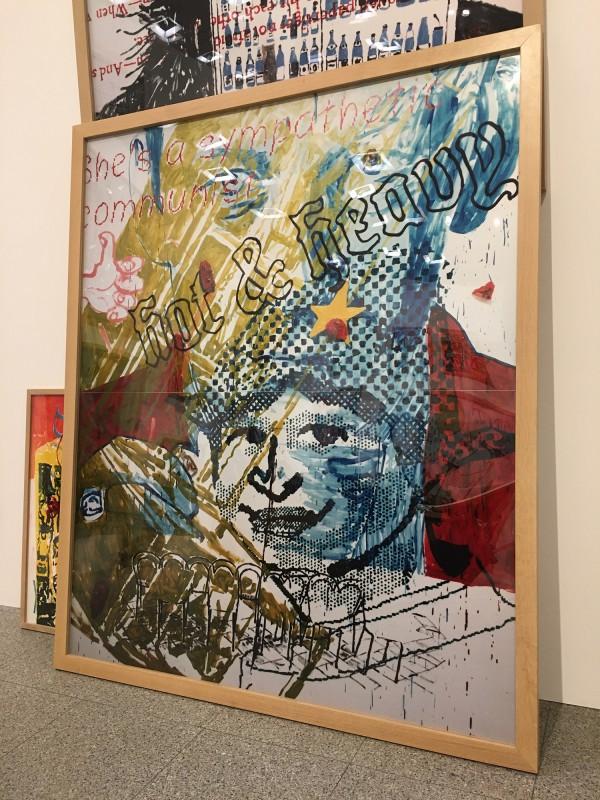 Martin Kippenberger - Bitteschön Dankeschön - Eine Retrospektive -Bundeskunsthalle Bonn 2019 -Heavy Burschi - Heavy Lad - 1989 1990 - Detail 3