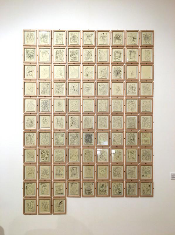 Martin Kippenberger - Bitteschön Dankeschön - Eine Retrospektive -Bundeskunsthalle Bonn 2019 - The Canary Searching for a Port in the Storm - 1988