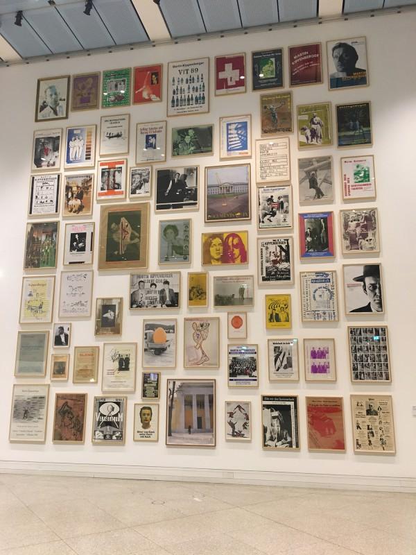 Martin Kippenberger - Bitteschön Dankeschön - Eine Retrospektive -Bundeskunsthalle Bonn 2019 - Verschiedene Plakate - Various Poster 1977 bis 1997