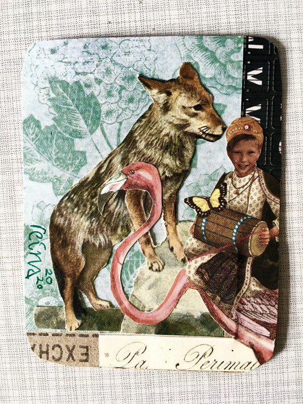 INcoming Mail Art from Reina Huges - March 2020- 3