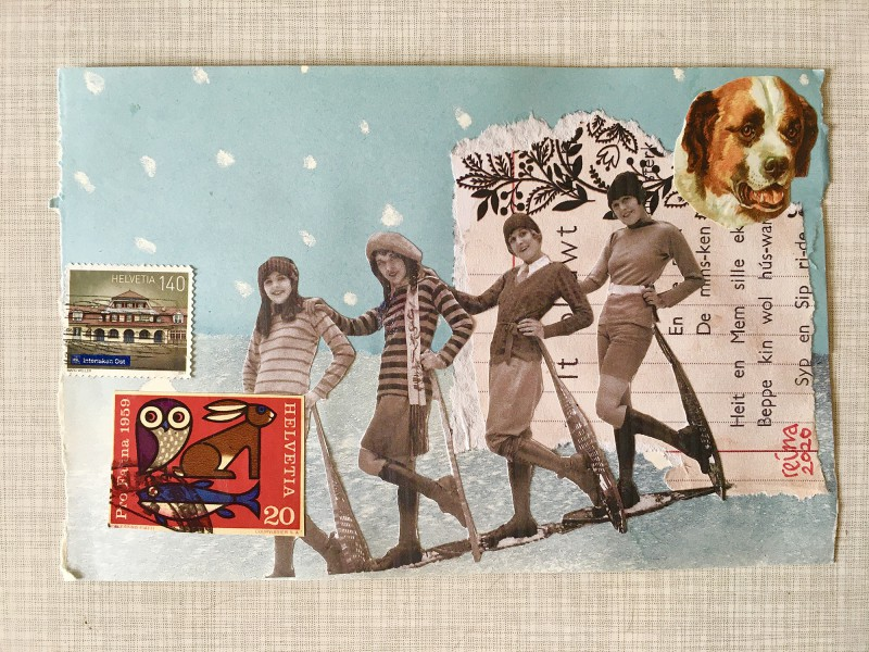 INcoming Mail Art from Reina Huges - March 2020- 5