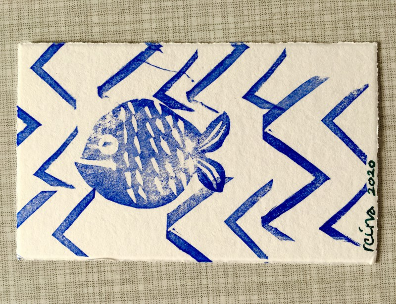 INcoming Mail Art from Reina Huges - March 2020- 9