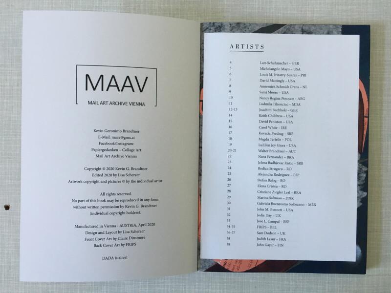 MAAV - Mail Art Archive Vienna - No2 - Dreamworlds - Participants / Teilnehmer