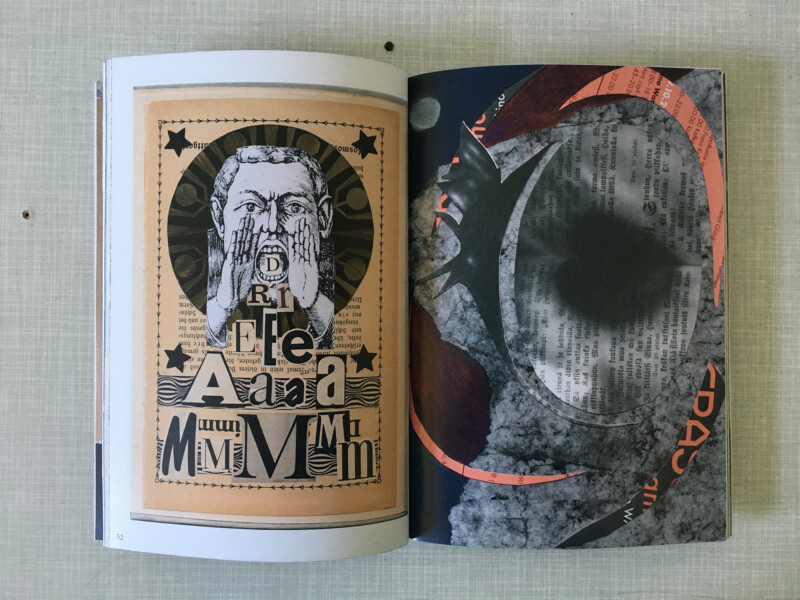 MAAV - Mail Art Archive Vienna - No2 - Dreamworlds - My Dreamer on the left