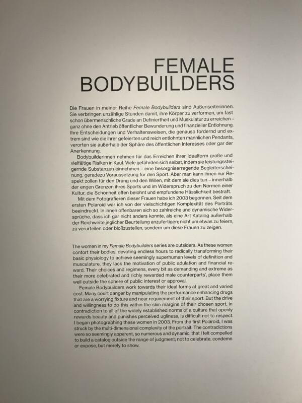 Martin Schoeller - Female Bodybuilders im NRW Forum Düsseldorf