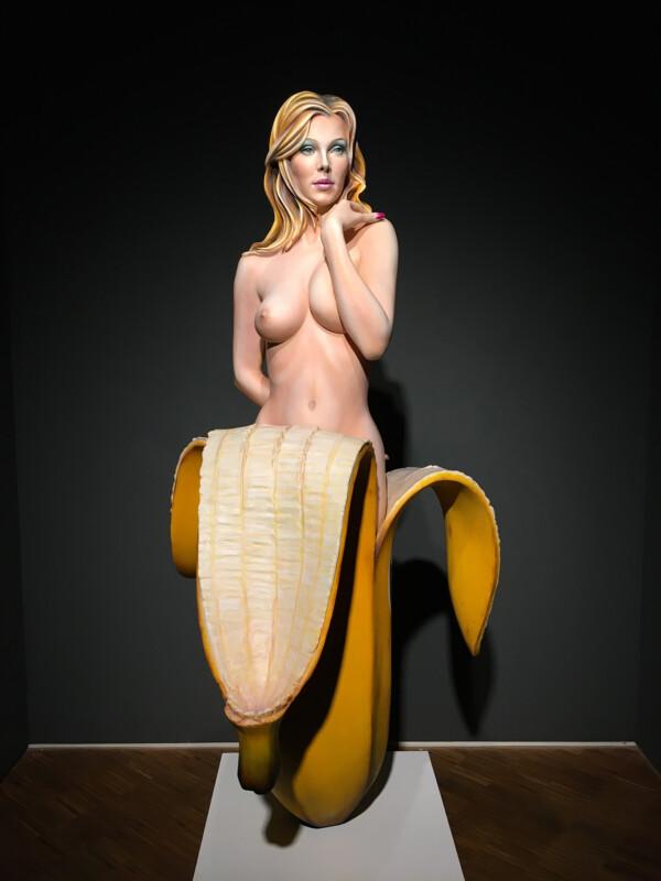 Mel Ramos - Chiquita Banana - 2007 - Osthaus Museum Hagen - Lebensecht