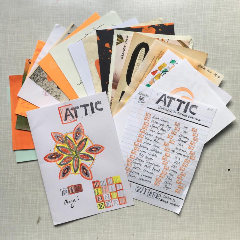 ATTIC ZINE NO 12 Orange 1