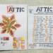 ATTIC ZINE NO 12 Orange 1 - Titelblatt und Teilnehmer / cover and articipants thumbnail
