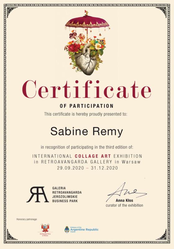 International Collage Art Exhibition 2020 -Retroavangarda