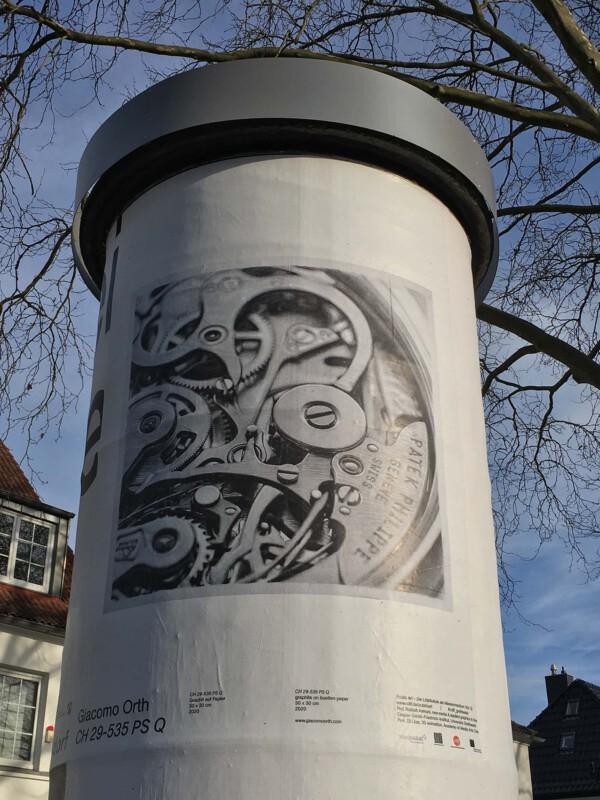Public Art - Litfasssäule als Massenmedium - Giacomo Orth - CH29-535 PS Q