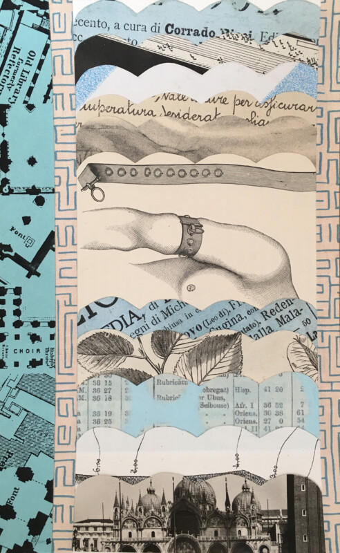 Incoming Alison Kurke Original Collage February 2021