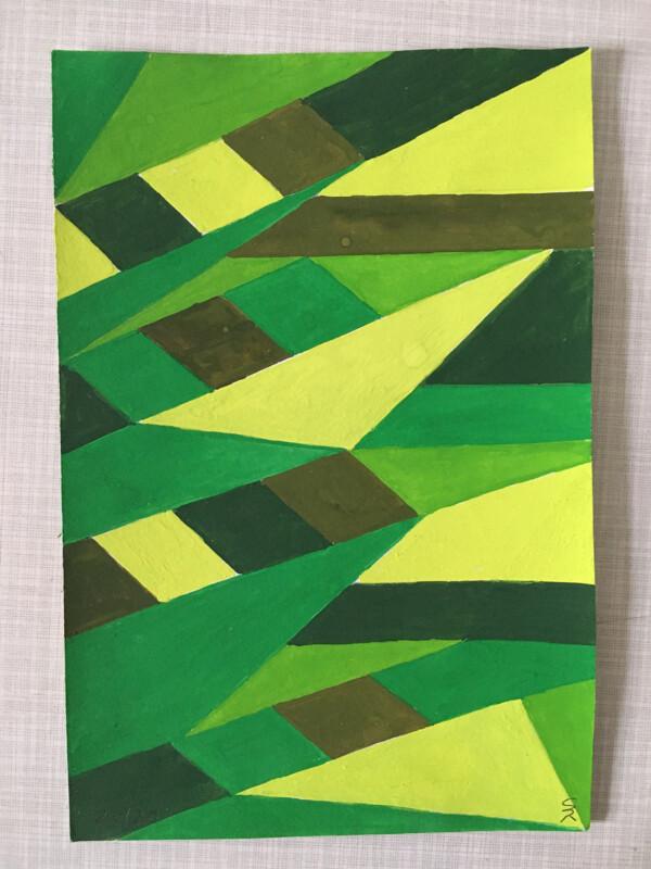 Attic Zine No 9 - Green 2 - Sabela Bana