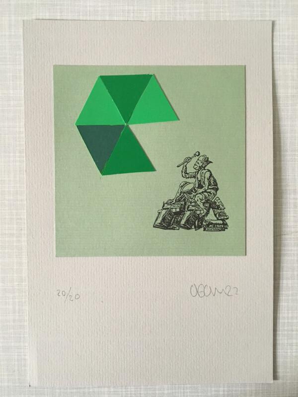 Attic Zine No 9 - Green 2 - Antonio Gomez
